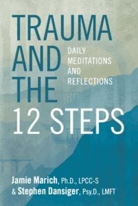 Book cover: Trauma and the 12 Steps: Daily Meditations and Reflections
